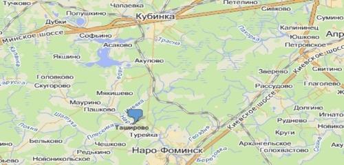 нара на карте