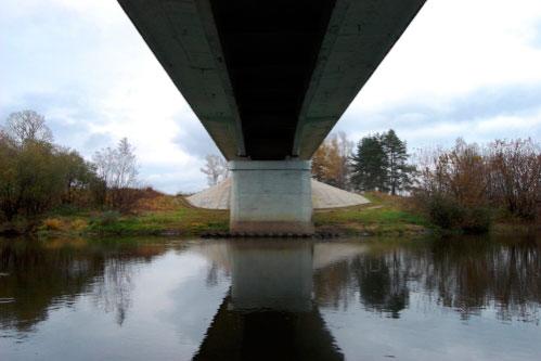 щука под мостом