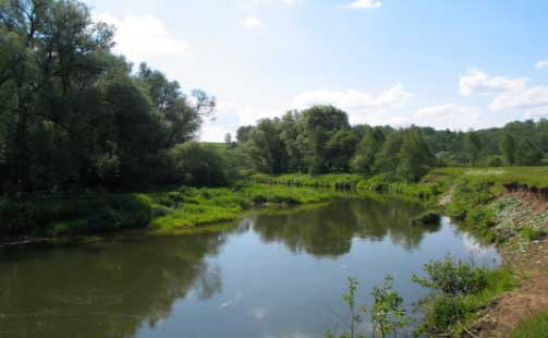 река тарус